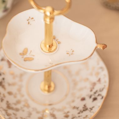 Mini Etagere Gold Teller Schmuckablage