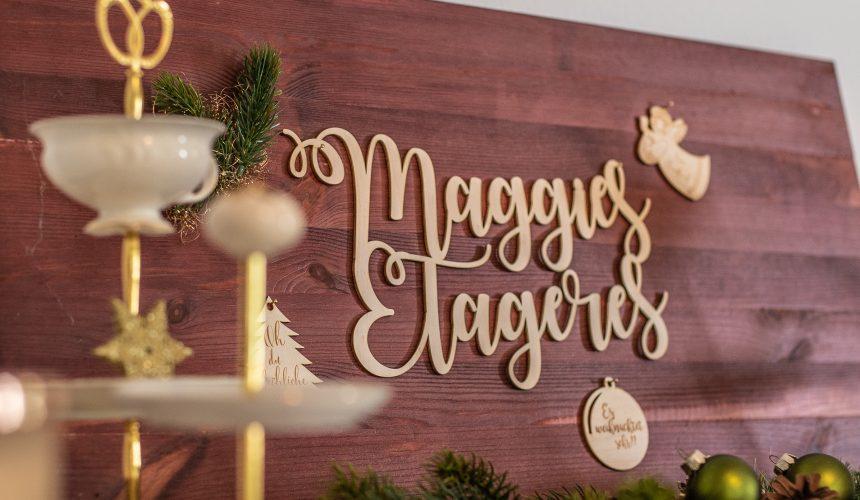 Weihnachtszauber bei Maggie's Etageres